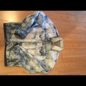 True Religion jean jacket !!!!